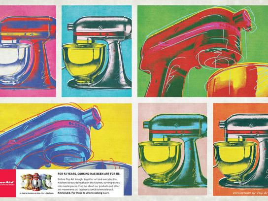 Whirlpool Print Ad -  Pop art