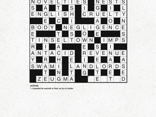Kit Kat Print Ad -  Crossword puzzle