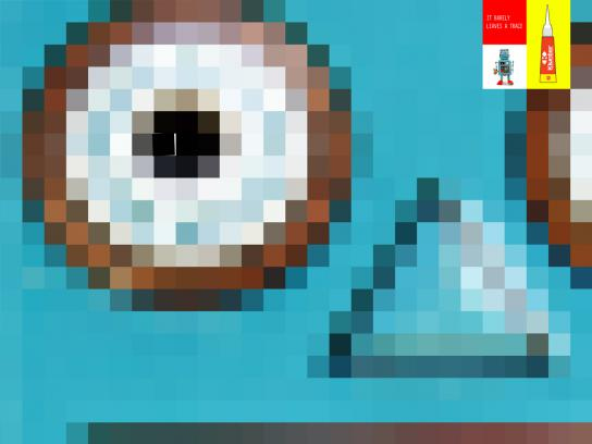 Klunter Print Ad -  Robot