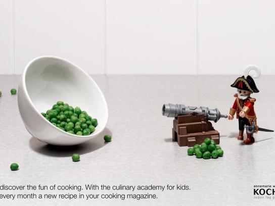 Kochen Print Ad -  Pea
