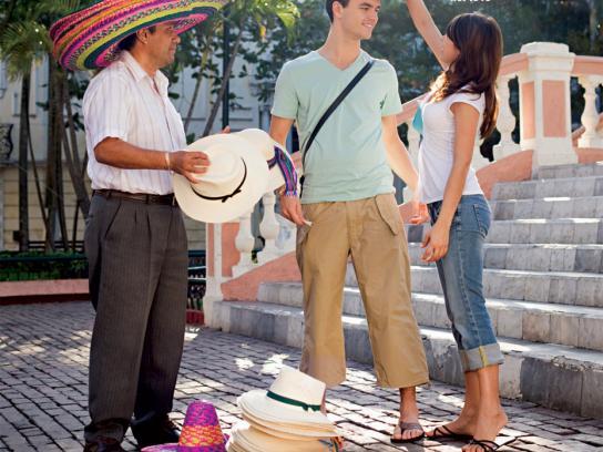 Lafa Print Ad -  Sombrero