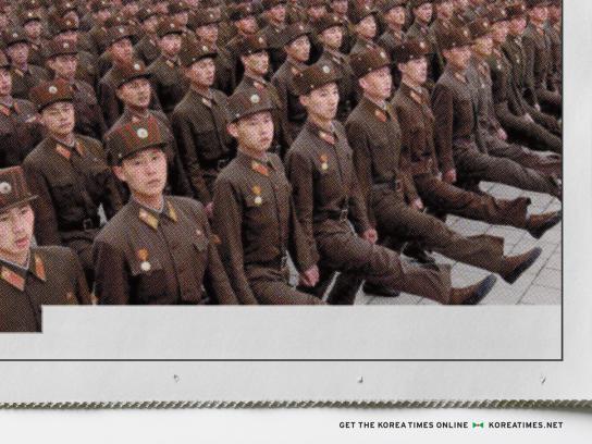 The Korea Times Print Ad -  Army