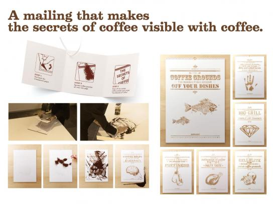 Kraft Direct Ad -  The Secrets of Coffee Mailing