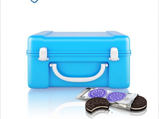 Oreo Outdoor Ad -  Cheer up your lunchbox