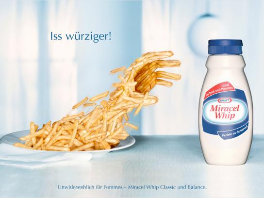 Miracel Whip Print Ad -  Fries