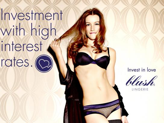 Blush Print Ad -  High interest