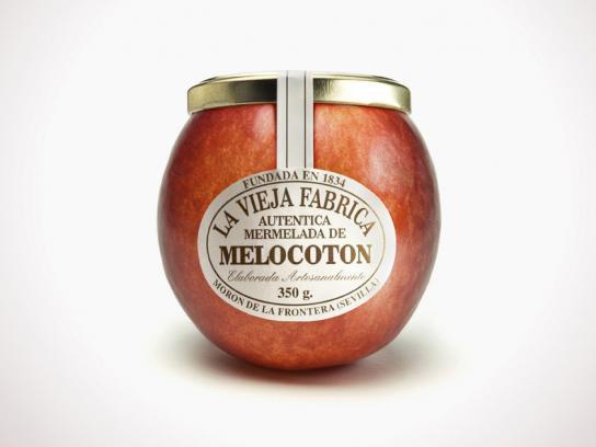Jam La Vieja Fabrica Print Ad -  Peach