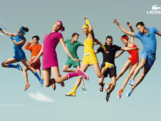 Lacoste Print Ad -  Pink