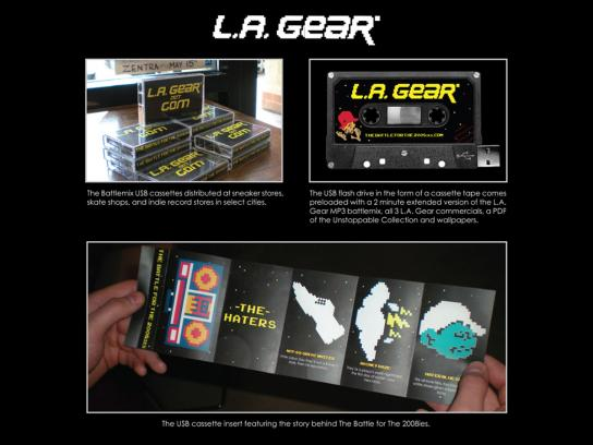 L.A. Gear Ambient Ad -  Haters