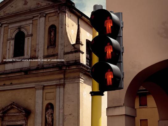 Lamborghini Print Ad -  Sant' Agata, 3