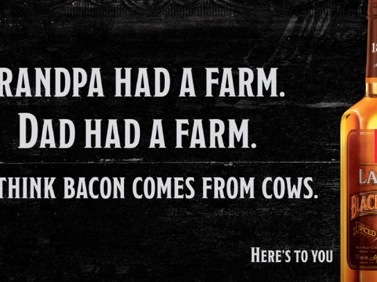 Lamb's Print Ad -  Bacon