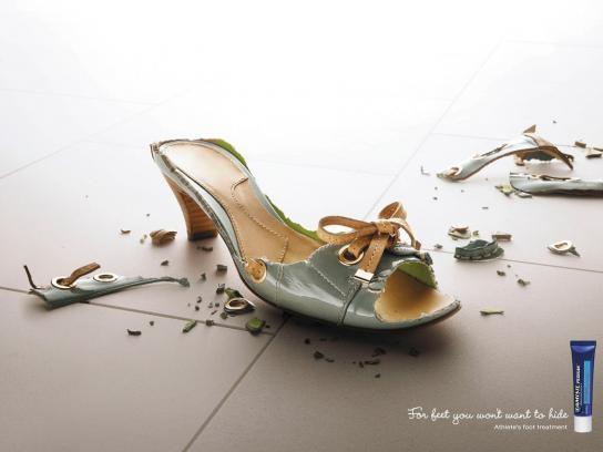 Lamisil Print Ad -  Sandal, 3