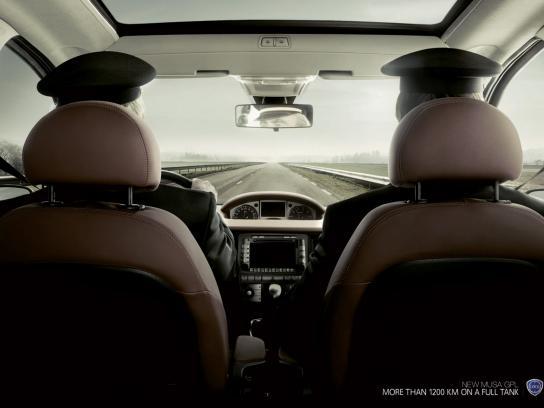 Lancia Print Ad -  Drivers