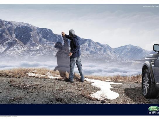 Land Rover Print Ad -  Mountain