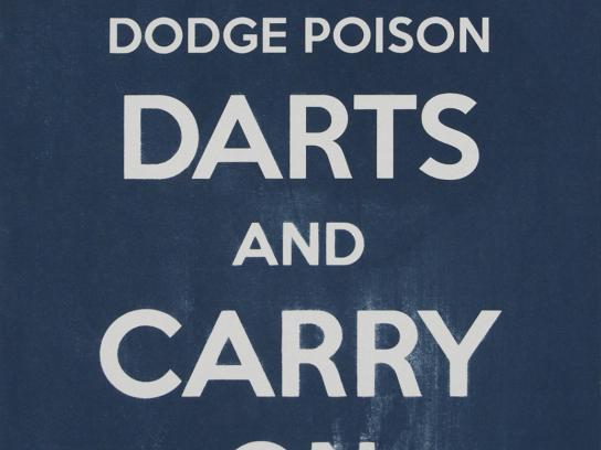 Land Rover Print Ad -  Darts