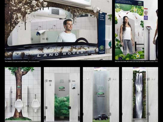 Land Rover Ambient Ad -  Locker Rooms