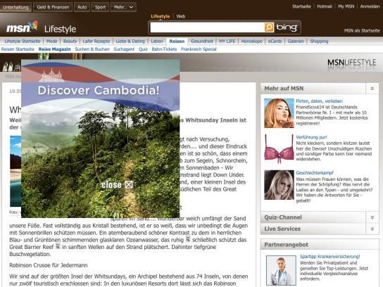 landmine.de Digital Ad -  Malicious