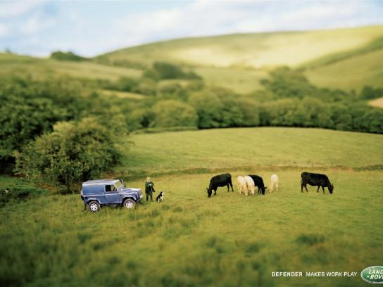 Land Rover Print Ad -  Play, 2