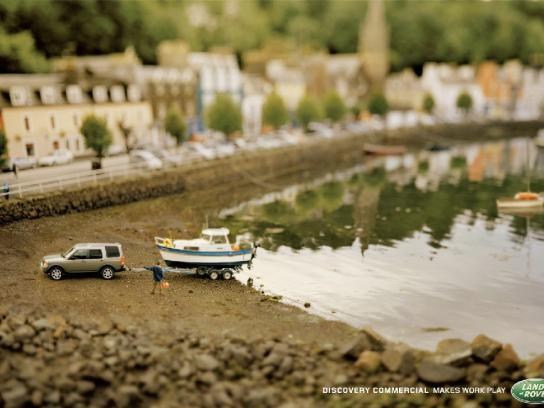 Land Rover Print Ad -  Play, 3