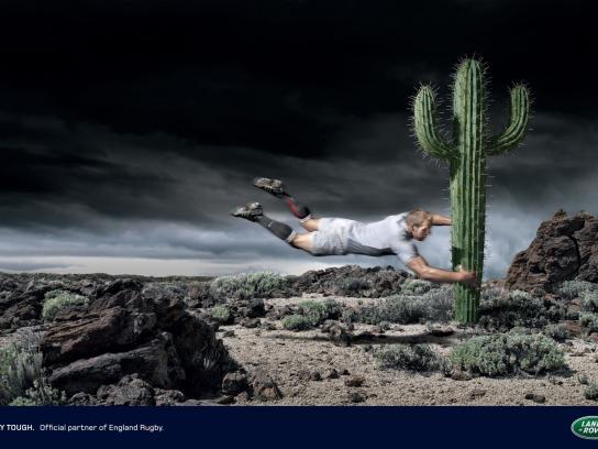 Land Rover Print Ad -  Cactus