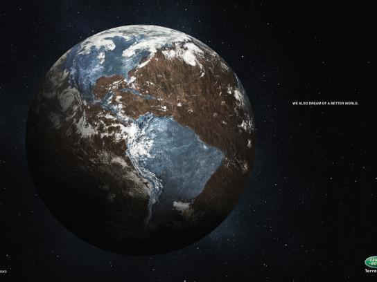 Land Rover Print Ad -  Earth