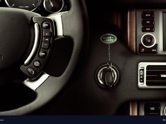Land Rover Print Ad -  Key