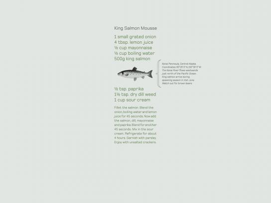 Land Rover Print Ad -  Salmon