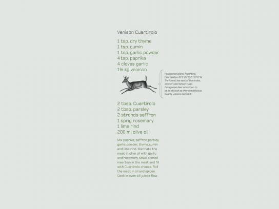 Land Rover Print Ad -  Venison