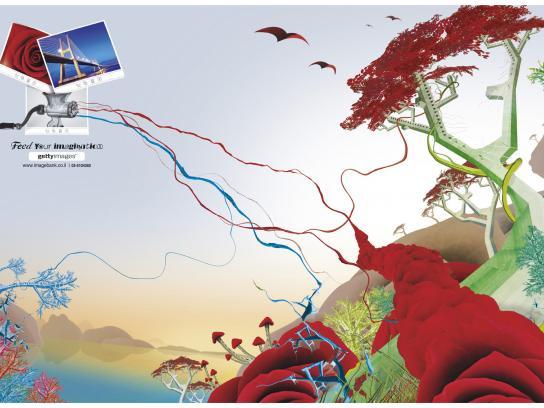Getty Images Print Ad -  Landscape