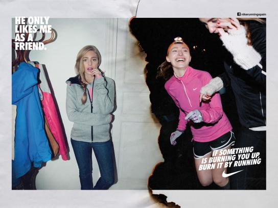 Nike Print Ad -  Run Madrid, Lara