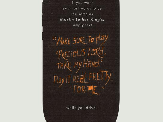 Fiat Print Ad -  Martin Luther King