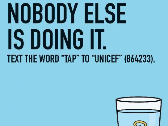 Unicef Print Ad -  Hipsters