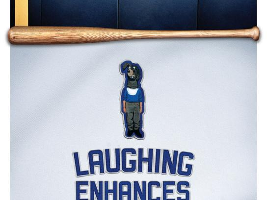 Kaiser Permanente Print Ad -  LA Dodgers / Health Tips, Laughing