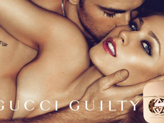 Gucci Print Ad -  Laying down