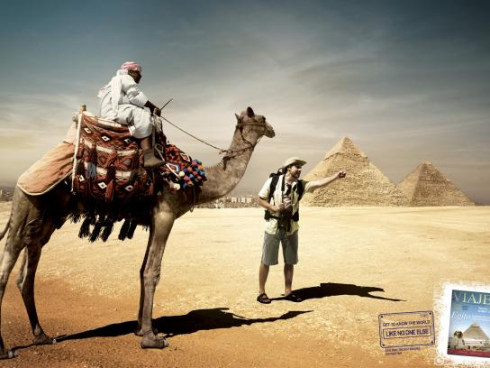 Viaje Mais Print Ad -  Egypt