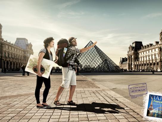 Viaje Mais Print Ad -  France
