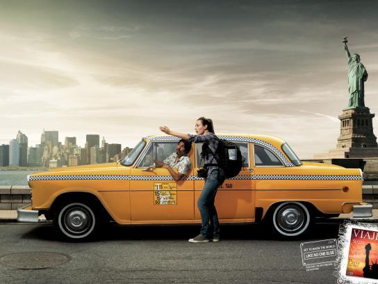 Viaje Mais Print Ad -  USA