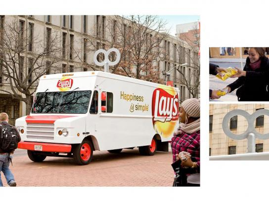 Lay's Outdoor Ad -  Wind-up truck