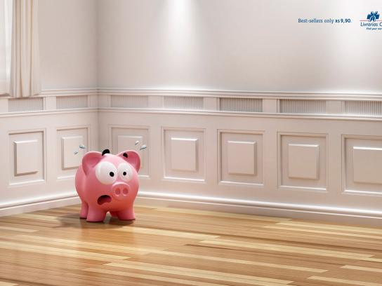 Livrarias Curitiba Print Ad -  Pig