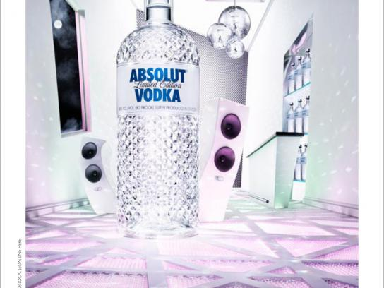 Absolut Print Ad -  Glimmer