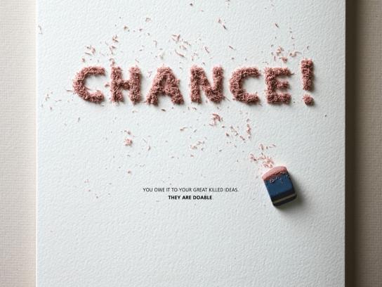 Leap Studios Print Ad -  Chance