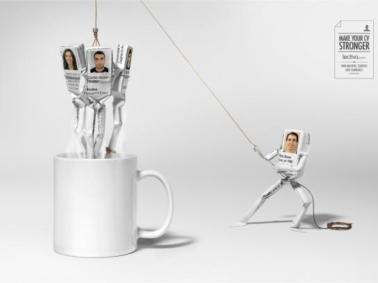 Lectiva.com Print Ad -  Mug