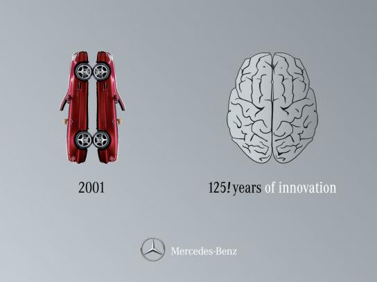 Mercedes Outdoor Ad -  Right Brain / Left Brain, 3