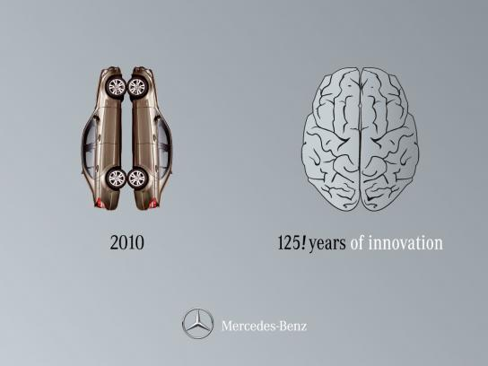 Mercedes Outdoor Ad -  Right Brain / Left Brain, 4