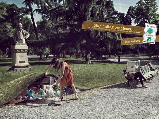 Legambiente Print Ad -  Park