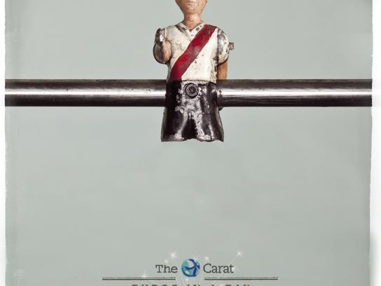 The Carat Print Ad -  Legless