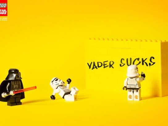 Lego Print Ad -  Graffiti
