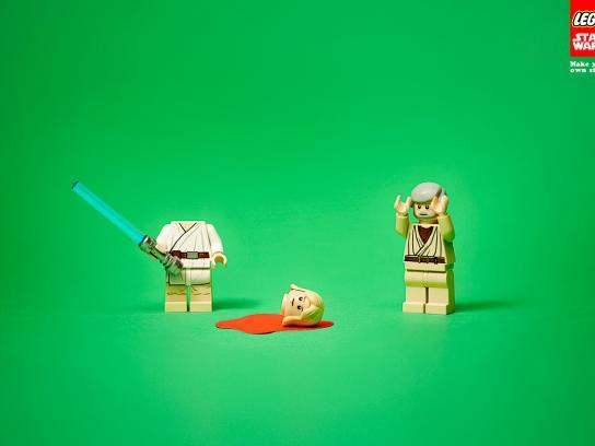 Lego Print Ad -  Head