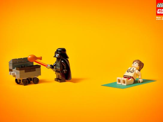 Lego Print Ad -  BBQ