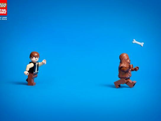 Lego Print Ad -  Bone
